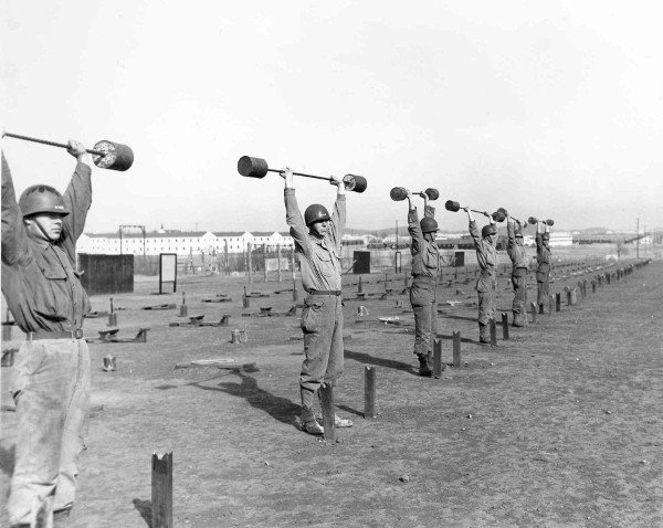 weights WWII