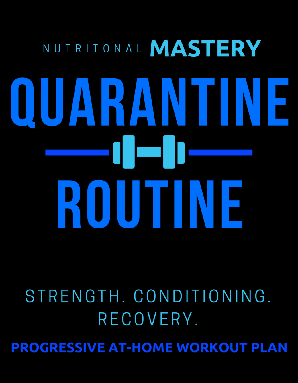 Copy of Quarantine Workout